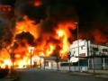 Рядом с Барселоной горит завод: есть риск утечки химикатов