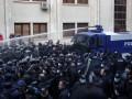 Демонстрантов в Тбилиси разогнали водометами