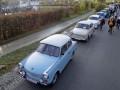 В Германии годовщину падения Берлинской стены отметили парадом авто Trabant