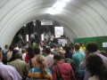На Театральной огромные толпы из-за ремонта эскалатора