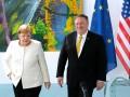 Помпео и Меркель обсуждали поддержку Украины