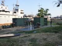 США строят военную базу в Очакове: первые фото