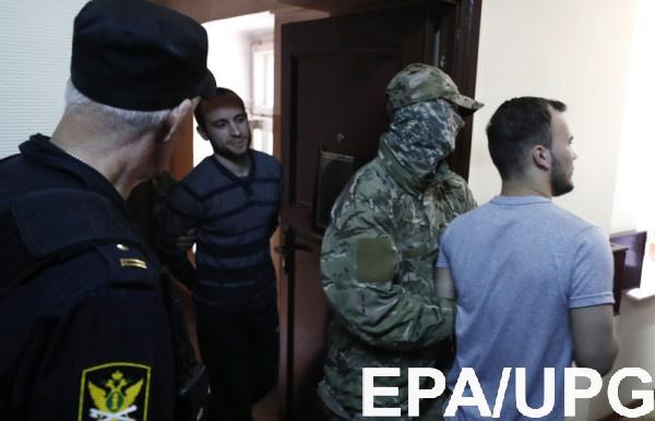 В Москве рассматривают апелляции на арест украинских моряков