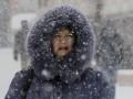 Погода в Украине: Киев замело, город почти остановился (ОБНОВЛЕНО)