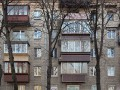 Киевлян хотят заставить демонтировать стекление балконов - источник