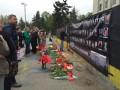 В Одессе вспоминают трагедию 2 мая: Антимайдан завесил черным сине-желтый забор