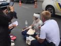 Полицейский автомобиль сбил женщину в Одессе