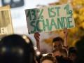 В Берлине прошла акция противников партии АдГ