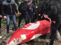 В центре Киева у офиса партии 5.10 устроили погром