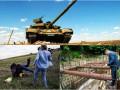 День в фото: Кличко на трубах, танк Богатырь и подножка беженцам