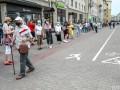 Предвыборная акция в Беларуси собрала пятикилометровую очередь