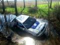 Закарпатские полицейские утопили служебное авто
