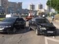 В Киеве пьяный в стельку водитель разбил четыре машины