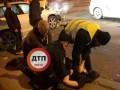 В Киеве пьяный водитель протаранил грузовик, убегая от полиции