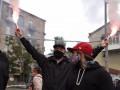 Нацкорпус провел акцию протеста у офиса Медведчука