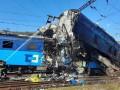 В Чехии столкнулись два товарных поезда, есть погибший