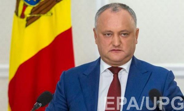 Игоря Додона в очередной раз временно отстранили от должности