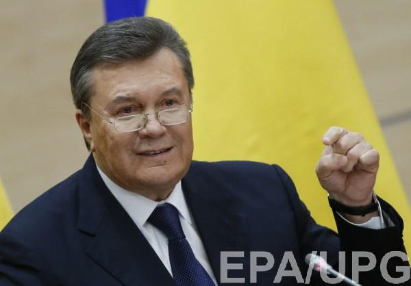 Допрос Януковича будут транслировать онлайн