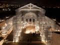 В Италии воссоздали церковь 13 века из проволоки