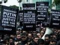 Сотни малазийцев пикетировали посольство России в Куала-Лумпуре (фото, видео)