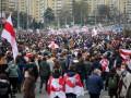 На улицы Минска вышли больше 100 тысяч человек