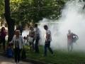 В Ровно загорелась маршрутка, набитая людьми