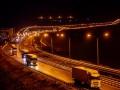 Крымский мост открыли для грузового транспорта