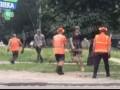 В Киеве коммунальщики подрались с