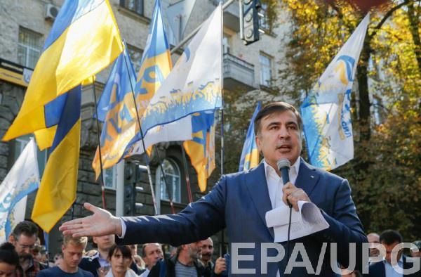В случае невыполнения требований акция может быть бессрочной, заверил Саакашвили