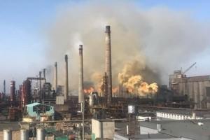 Промышленное производство в Украине продолжает падать