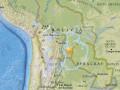 В Боливии произошло землетрясение магнитудой 6,8