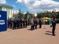 В Северодонецке приняли присягу патрульные полицейские