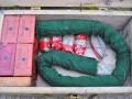 Саперы обезвредили 50 килограмм взрывчатки в Луганской области