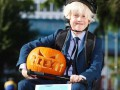 Борис Джонсон стал популярным персонажем Хэллоуина