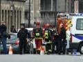 Мужчина поджег себя у здания Европарламента