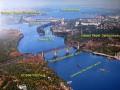 В Запорожье девушка упала с моста в Днепр и выжила