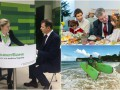 День в фото: семья Порошенко в детском доме, Ляшко в ПриватБанке и футболисты на отдыхе