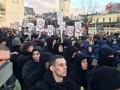 Нацкорпус пикетировал Порошенко во Львове
