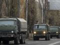 В Донецке и Макеевке замечен военный конвой