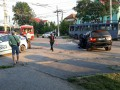 В Ивано-Франковске джип разбился о припаркованный троллейбус