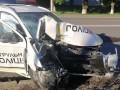 В Луцке разбилась патрульная машина: Копы в тяжелом состоянии