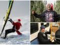 День в фото: серфер-Санта Клаус, поздравление Тайсона и Коноплянка в трамвае