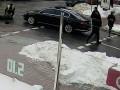 В центре Киева кортеж Порошенко сбил человека - СМИ