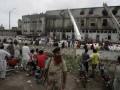 Число погибших при пожаре на швейной фабрике в Пакистане увеличилось до ста