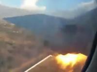 Появилось видео падения самолета в ЮАР, снятое из его салона