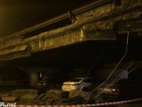 В Киеве обрушился Шулявский мост