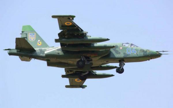 Террористы якобы сбили Су-25