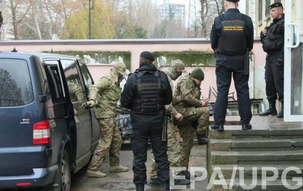 Задержанные РФ украинские моряки