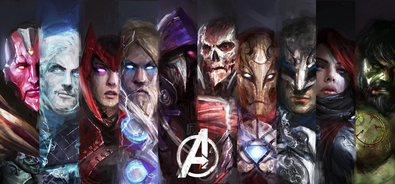 Как бы выглядели темные двойники Мстителей