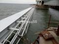 В Сети показали новые фото рухнувшего пролета Крымского моста
